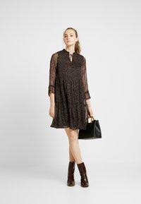 ONLY - ONYNIKOLINE KNEE DRESS - Kjole - black - 2