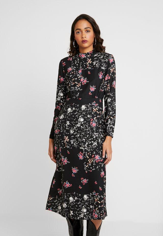 ONLBECKY CALF DRESS - Vestido informal - black