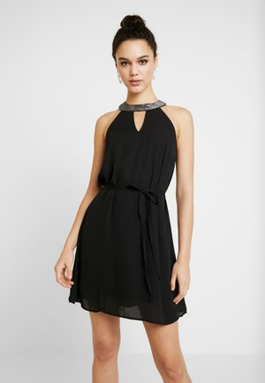 ONLTIMCA HIGH NECK DRESS - Vestido informal - black