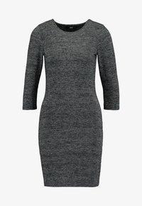 ONLY - ONLFREJA SHORT DRESS - Vestido de tubo - black/silver - 4
