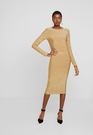 ONLAVALYN DRESS - Cocktailklänning - gold