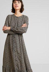 ONLY - ONLLOUISE DRESS - Maxi šaty - black - 4