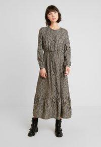 ONLY - ONLLOUISE DRESS - Maxi šaty - black - 0