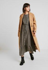 ONLY - ONLLOUISE DRESS - Maxi šaty - black - 2