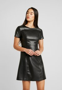 ONLY - ONLMAJKEN JOLEEN DRESS - Day dress - black - 0