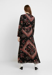 ONLY - ONLNINA ANCLE DRESS - Maxi dress - black/scarf brick dust - 3