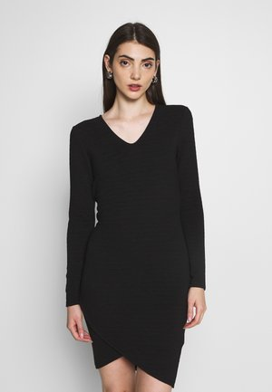 ONLCYBIL SHORT DRESS  - Kotelomekko - black