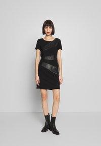 ONLY - ONLDINAS DRESS - Shift dress - black - 1