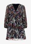 ONLDAISY  SHORT DRESS - Robe d'été - sky captain/cool branches