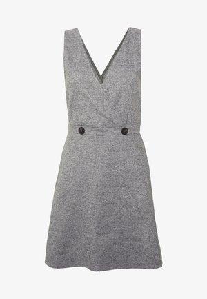 ONLTRACIE DRESS - Denní šaty - dark grey melange