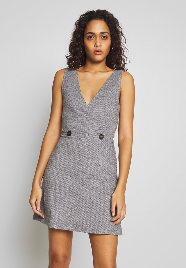 ONLTRACIE DRESS - Vestido informal - dark grey melange