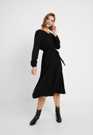 ONLFALMA STRING DRESS SOLID - Kjole - black
