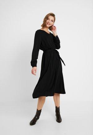 ONLFALMA STRING DRESS SOLID - Vapaa-ajan mekko - black