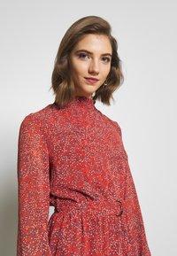 ONLY - ONLKENDEL DRESS BELT - Day dress - rust - 4
