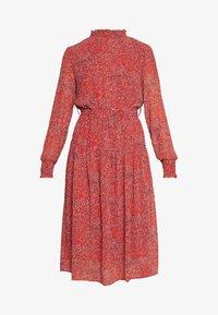 ONLY - ONLKENDEL DRESS BELT - Day dress - rust - 3
