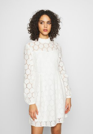 ONLNORA SHORT DRESS - Juhlamekko - cloud dancer