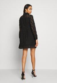 ONLY - ONLNORA SHORT DRESS - Sukienka koktajlowa - black - 2