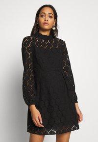 ONLY - ONLNORA SHORT DRESS - Sukienka koktajlowa - black - 0