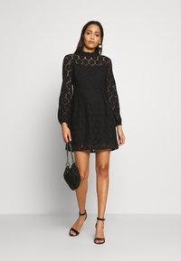 ONLY - ONLNORA SHORT DRESS - Sukienka koktajlowa - black - 1