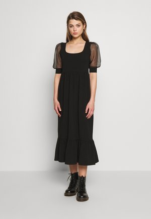 ONLRINNA DRESS - Žerzejové šaty - black