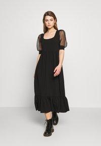 ONLY - ONLRINNA DRESS - Vestito di maglina - black - 1