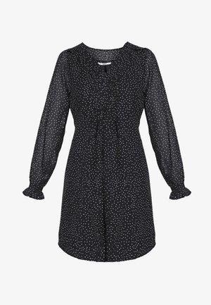 ONLBEATRICE  LIFE DRESS - Robe d'été - black/cloud dancer