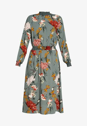 ONLELEONORA SMOCK DRESS - Korte jurk - balsam green