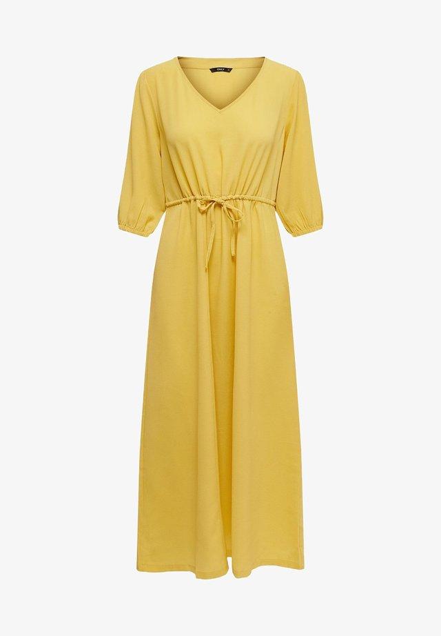 KLEID EINFARBIGES - Vestido informal - misted yellow