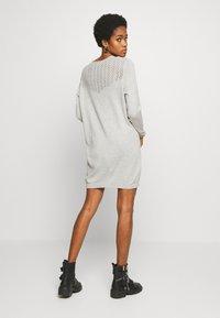 ONLY - ONLEDEN DRESS  - Jumper dress - light grey melange - 2