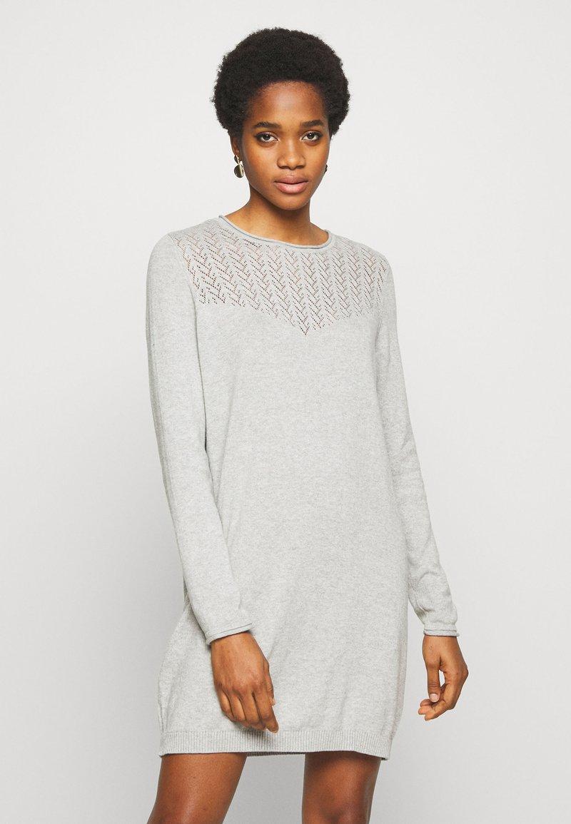ONLY - ONLEDEN DRESS  - Jumper dress - light grey melange