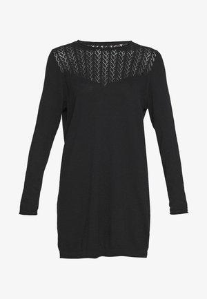ONLEDEN DRESS  - Abito in maglia - black