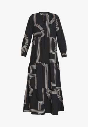 ONLMOIRA MAXI DRESS - Robe longue - black/graphic