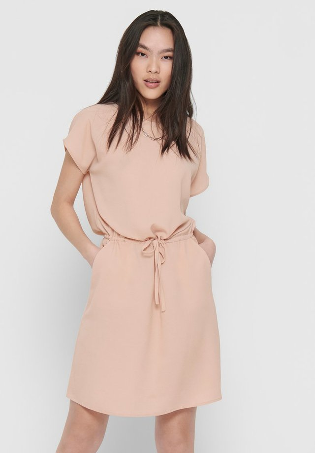 ONLNOVA LUX CONNIE BALI DRESS SOLID - Korte jurk - rose smoke