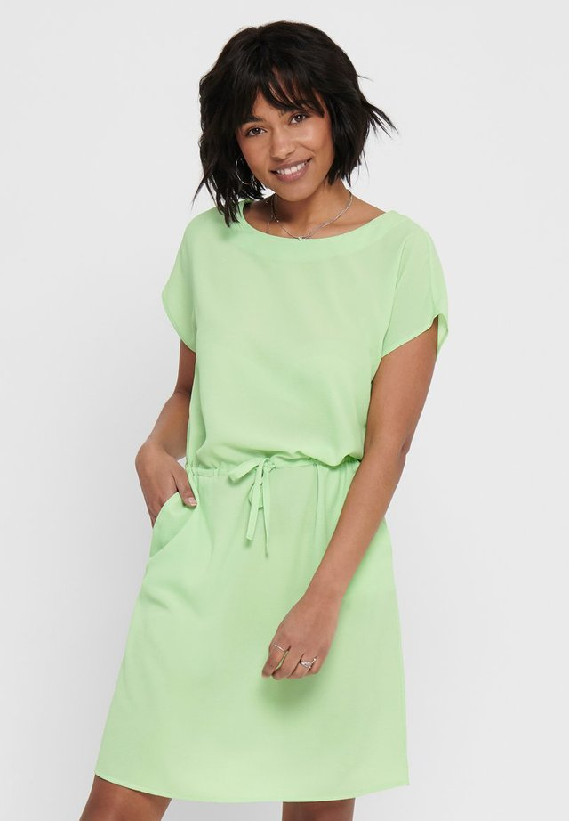 ONLNOVA LUX CONNIE BALI DRESS SOLID - Korte jurk - pastel green