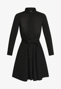 ONLY - ONLLIVIA DRESS - Denimové šaty - black - 3