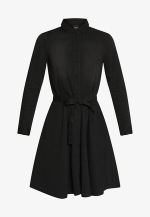 ONLLIVIA DRESS - Denim dress - black