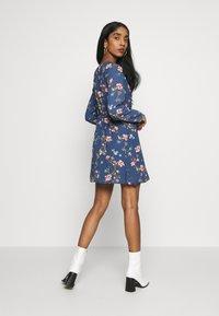 ONLY - ONLCLAIRE SHORT DRESS - Kjole - dark denim - 2