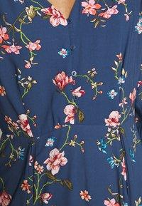 ONLY - ONLCLAIRE SHORT DRESS - Kjole - dark denim - 5