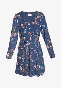ONLY - ONLCLAIRE SHORT DRESS - Kjole - dark denim - 4