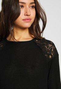 ONLY - ONLKARLA SKATER DRESS - Jumper dress - black - 4
