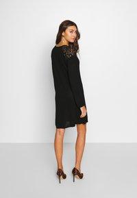 ONLY - ONLKARLA SKATER DRESS - Jumper dress - black - 2