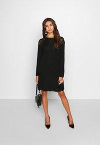 ONLY - ONLKARLA SKATER DRESS - Jumper dress - black - 1