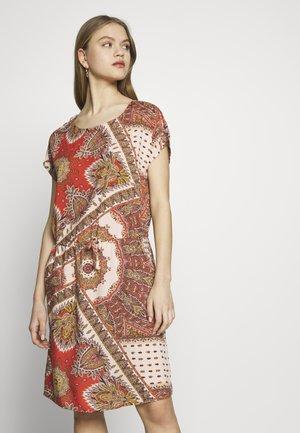 ONLNOVA CONNIE BALI DRESS - Day dress - lotus/flame