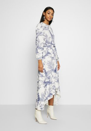 ONQVIKA LONG DRESS  - Robe longue - white swan/animal blue