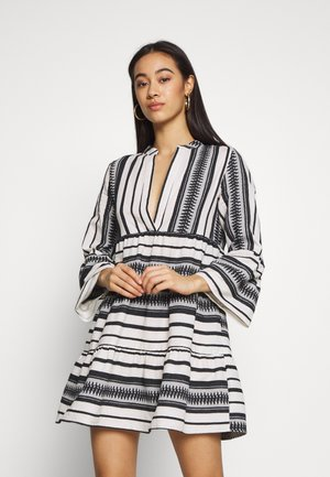 ONLSALLY ATHENA DRESS  - Robe d'été - cloud dancer/black athena