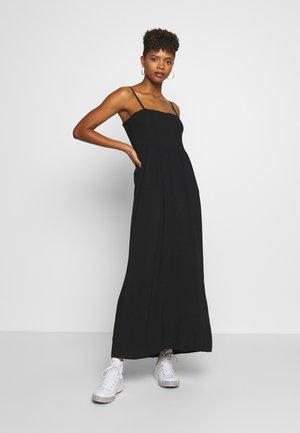 ONLNOVA LIFE SMOCK DRESS SOLID - Maxi dress - black