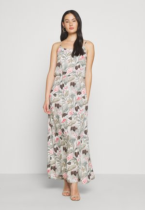 ONLNOVA LIFE DRESS - Maxi-jurk - cloud dancer/botanic