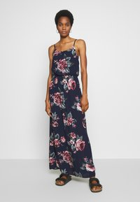 ONLY - ONLNOVA LIFE DRESS - Maxi dress - night sky/rose - 1