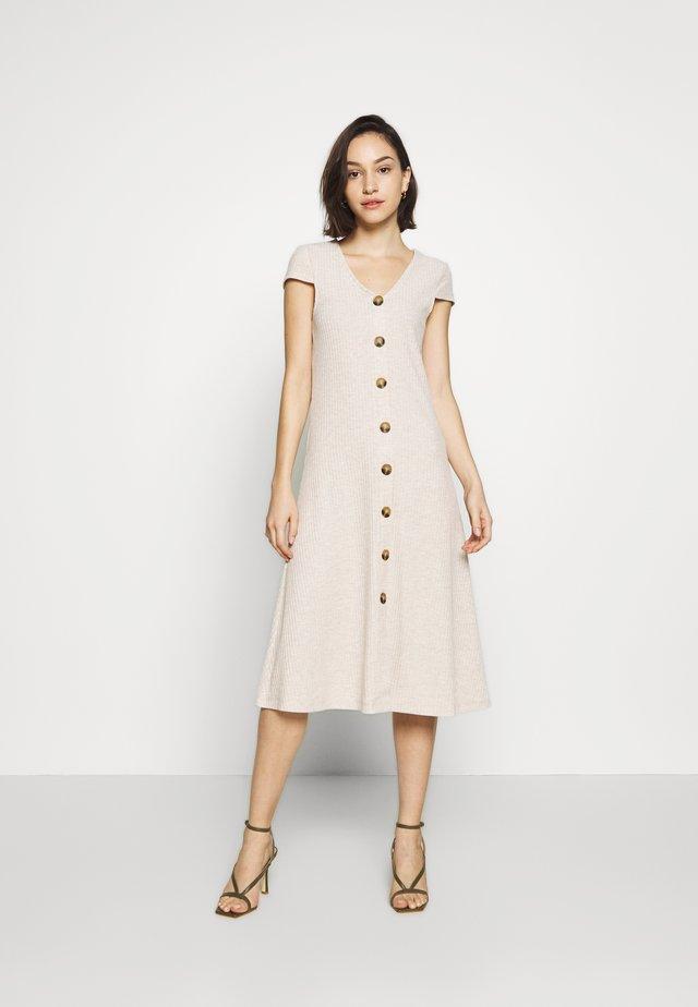 ONLNELLA DRESS - Vestido ligero - oatmeal