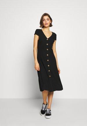ONLNELLA DRESS - Jerseyjurk - black